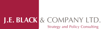J.E. Black & Company Ltd. Strategy and Policy Consultants